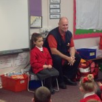 Jolly Postman Our text this term was the Jolly Postman by Allan & Janet Ahlberg We had a visit from a real postman